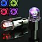 Světla na kolo / blikající uzávěr ventilu světla Cyklistika poplach AG10 / knoflíková baterie Lumenů Baterie Cyklistika-FJQXZ®