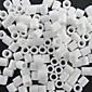 cca 500ks / sáček 5mm bílá pojistek korálky Hama korálky DIY puzzle eva materiál safty pro děti řemesla