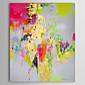 Ručně malované Abstraktní Vertikálně,Klasický Jeden panel Plátno Hang-malované olejomalba For Home dekorace