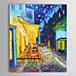 Ručně malované Slavné / KrajinaTradiční / Klasický Jeden panel Plátno Hang-malované olejomalba For Home dekorace