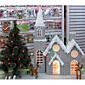 クリスマスオーナメントクリスマス雪の家、紙