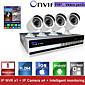 sinocam® 4CH NVR i 720p P2P komplet sigurnosnih IP kamera sustav podrške Video pritisak