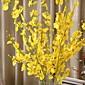 1 Větev Hedvábí Umělá hmota Orchidej Květina na stůl Umělé květiny 94 5 5