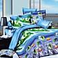 3D(ランダムパターン) ポリエステル 4個 布団カバーセット