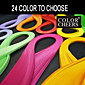 120pcs nabran porub papira 5mmx54cm (24 boja koje možete izabrati) DIY obrt umjetnost ukras