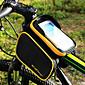 CoolChange® Cyklistická taška 3LBrašna na rám Cyklistika Backpack Turistické doplňky Odolné vůči dešti Reflexní pásek Protiskluzový povrch