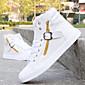 Muške Vulkanizirane cipele Umjetna koža Vulkanizirane cipele Crna Bijela