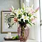 Hedvábí / Umělá hmota Lilie Umělé květiny
