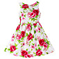 Djevojka je Ljeto / ProljećeCvjetni print-Pamuk-Ljeto / Proljeće-Crvena