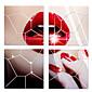 Oblici / 3D Zid Naljepnice Zidne naljepnice ogledala , PS 25x25cm