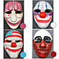 Mask Inspirirana Cosplay Cosplay Anime / Video Igre Cosplay Pribor Mask Bijela / Crvena / Plava / Ljubičasta ABS Male