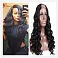 8a razreda peruanski djevica ljudske kose u dio vlasulja tijelo val neprerađeni valovite u djelovima perika vlasulja U-dio za crne žene