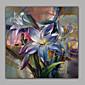 realistické květ lilie olejomalba ruční ložnice zeď umění dekorace doprava zdarma