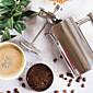 nerezová ocel francouzská káva stisknutím nebude rez a mýt v myčce.