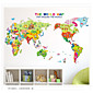 ファッション / 歴史 / 風景画 / 3D ウォールステッカー プレーン・ウォールステッカー,pvc 50*70cm
