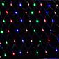 čistý led světla 1.5x1.5m 96led net světla řetězec svatební party sváteční dekorace vánočními zapálit EU zásuvka AC220V nebo ac110v