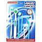 zubní kartáček a zubní péče kit zubní kartáček na zuby hygiena čistý v ústech 8 nástroje nastavit (náhodné barvy)