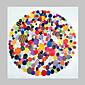 Velikost ležák ručně malované abstraktní moderní olejomalba na plátně jednoho panelu připraven k zavěšení