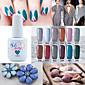 Lak na nehty UV gel 15ml 1picec Třpytky / UV barevný gel Namočte off Dlouhotrvající