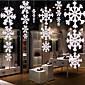 4ks vánoční ozdoby vysoce kvalitní trojrozměrný plane sněhové vločky string
