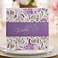 あり 三つ折り 結婚式の招待状 招待状カード 婚約披露パーティー・カード-50 ピース/セット アーティスティック コートボール紙 ボウ